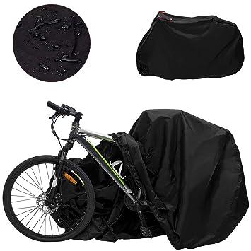 Funda para Bicicleta Impermeable Funda de Protección Bicicleta Funda Bici de 210T Tafetán Resistente Proteger Bici del Sol Lluvia Polvo