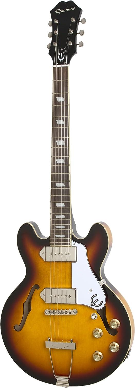 Epiphone CASINO Coupe Thin-Line Hollow Body Electric Guitar, Vintage Sunburst