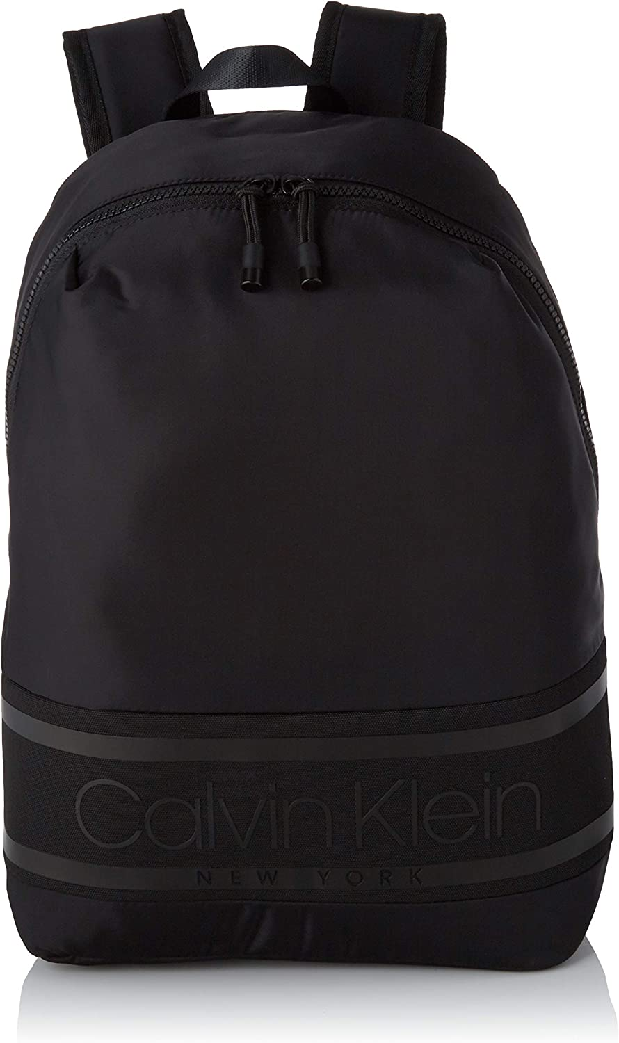 Calvin Klein Striped Logo Round Backpack - Mochilas Hombre