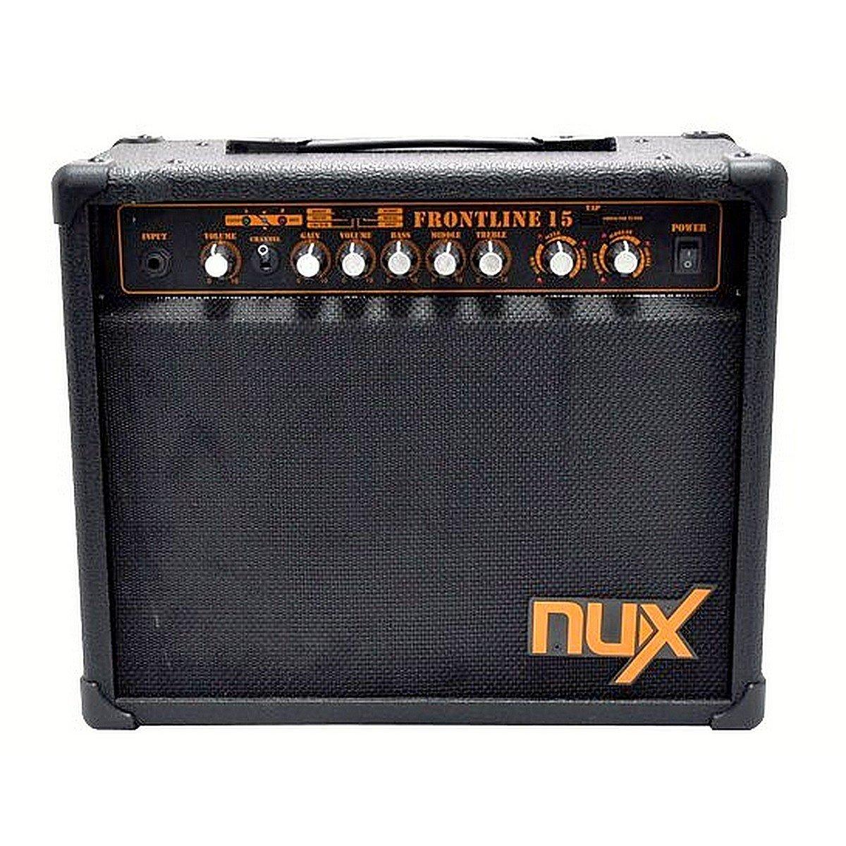 NUX Frontline 15 Electric Guitar Amplifier 15-Watt Clean and Distortion