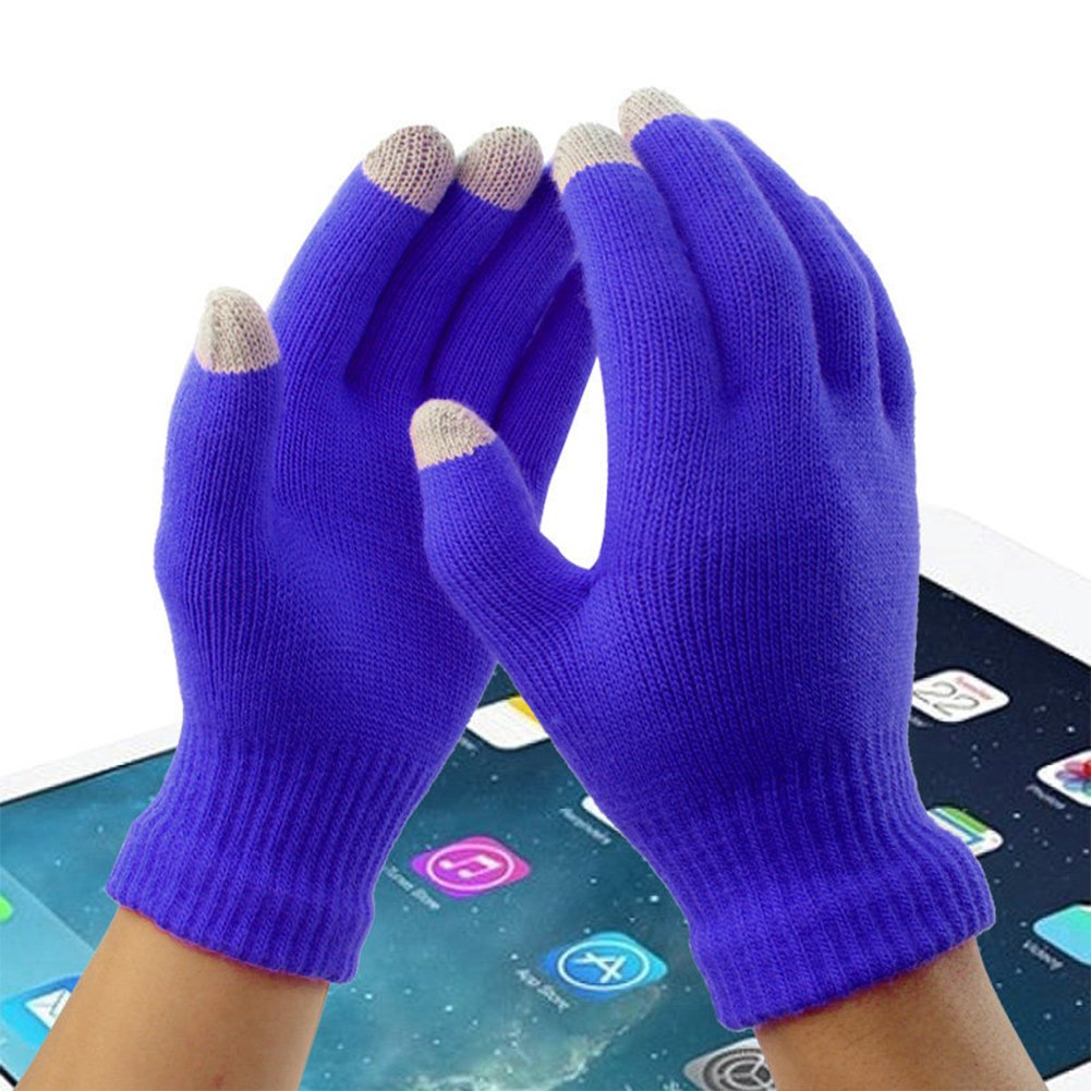 LifeWheel Fashion Touch Screen Warm Gloves//Winter Wool Yarn Lovers Gloves//Cold Weather Gloves