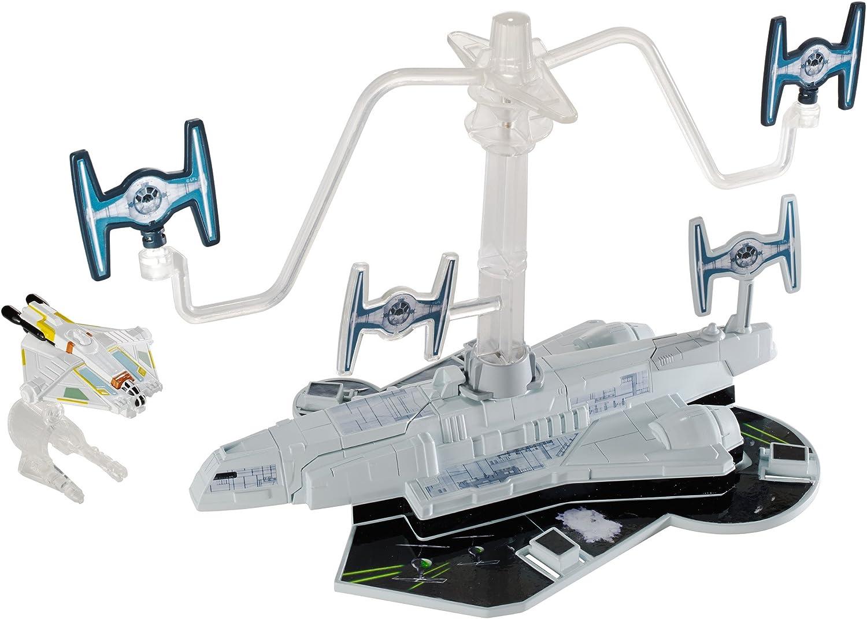 Brand New Hot Wheels Star Wars Starship Hoth Echo Base Battle Play Set