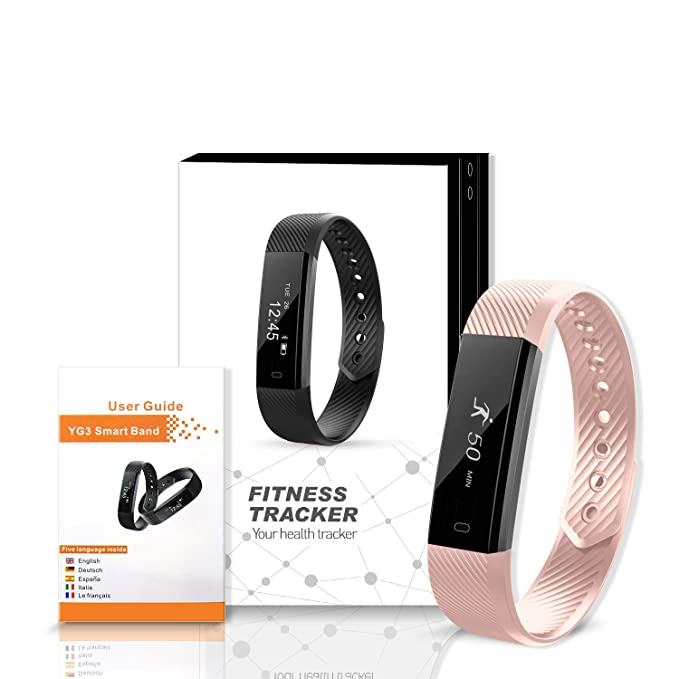 Fitness Tracker, luluking reloj inteligente con monitor de ...