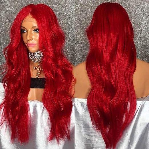 Tocados para el pelo en color rojo