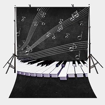 LYLYCTY LYLX269 - Llavero de piano con diseño de telón de ...