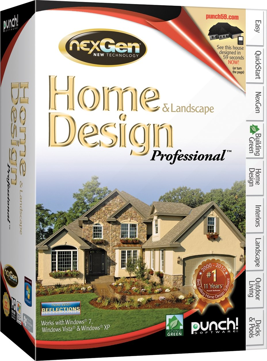 Amazon.com: Punch! Home And Landscape Design Professional, Version 2   Old  Version