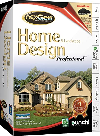 Amazoncom Punch Home And Landscape Design Professional Version 2