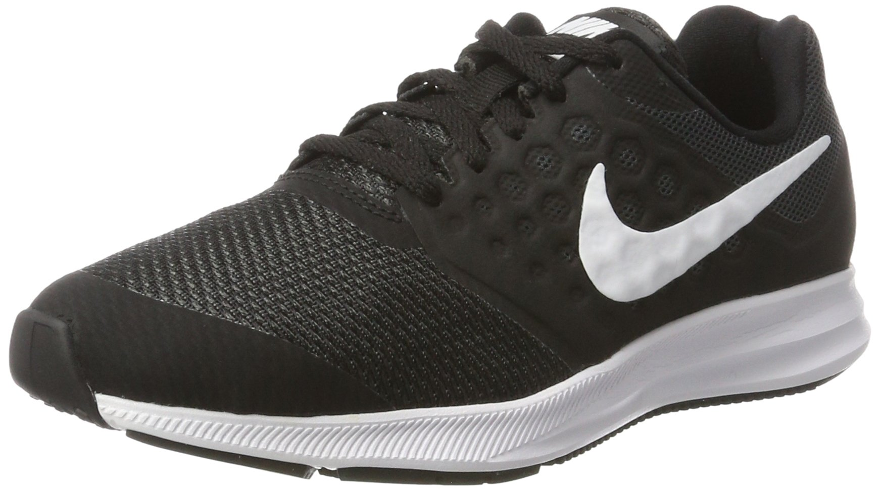 d538e3d21b99 Galleon - Nike Kids Downshifter 7 (GS) Black White Anthracite Size 4.5