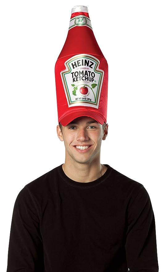 c2937dac48138 Rasta 4850 Heinz Ketchup Bottle Hat (gorro sombrero)  Amazon.es ...