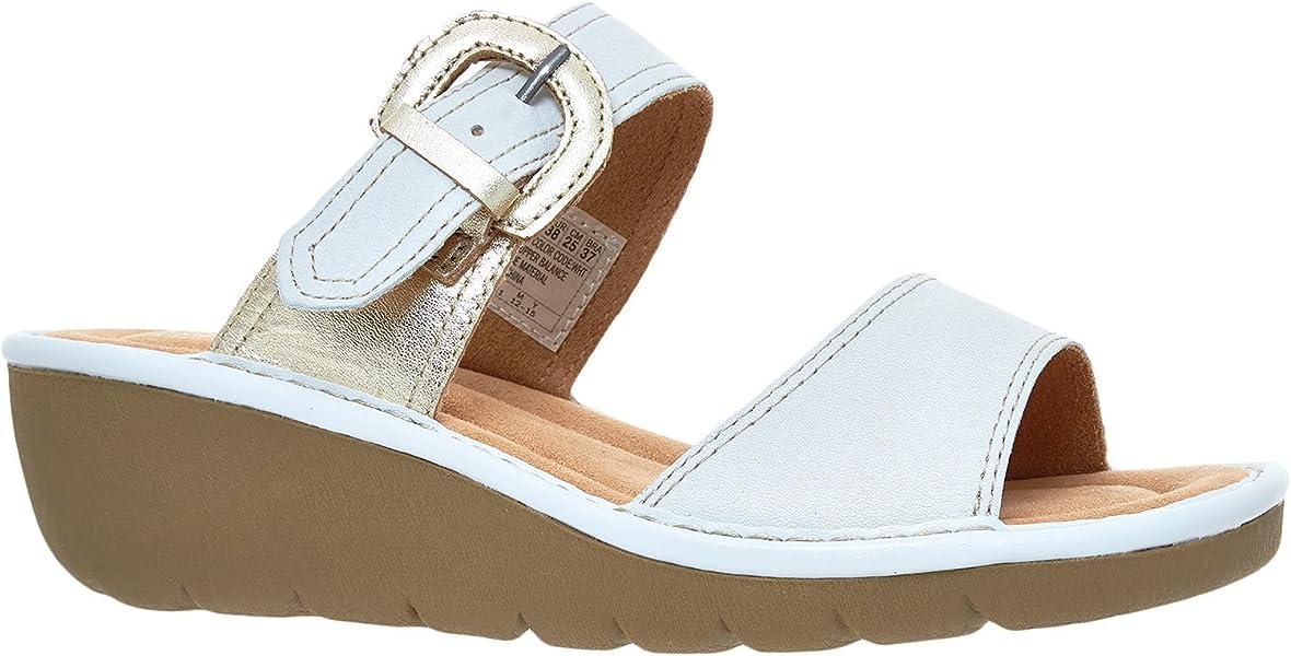 Skechers California Luxury, Damen Sandalen , Weiß weiß