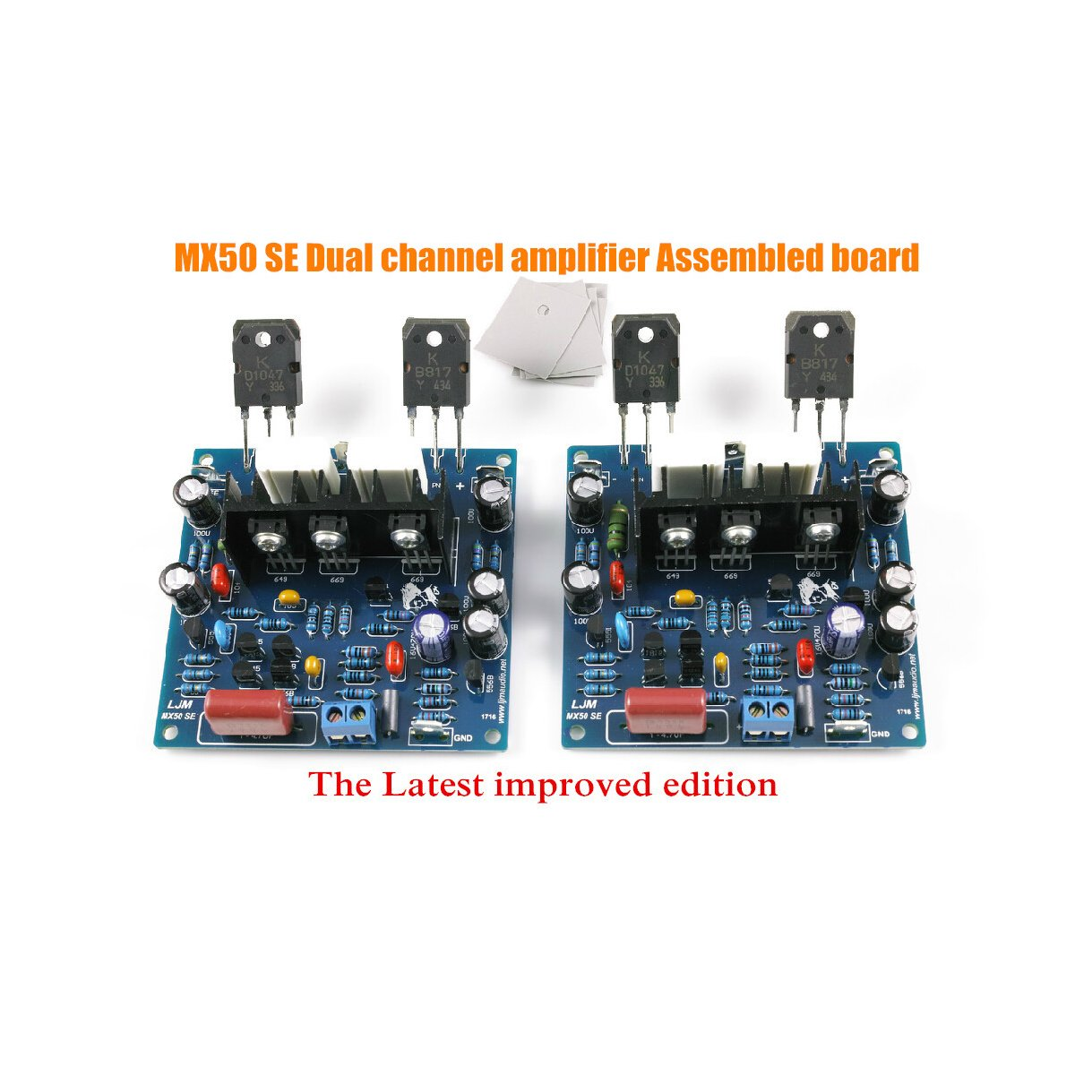 Douk Audio Mx50 Se Power Amplifier Kit Dual Channel 100w Hifi Circuit Board Buy Product On Diy 2pcs Lot Hi Fi Speakers