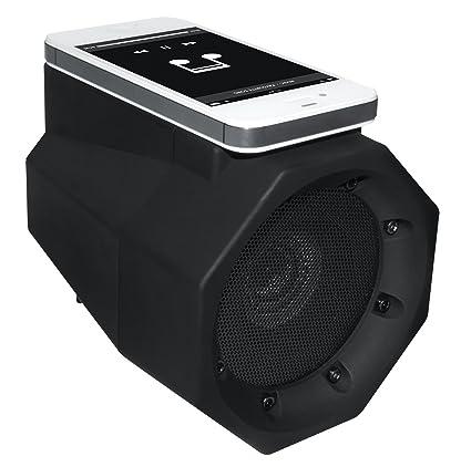 Superb BoomTouch Wireless Touch Portable Speaker Boom Box (Black)