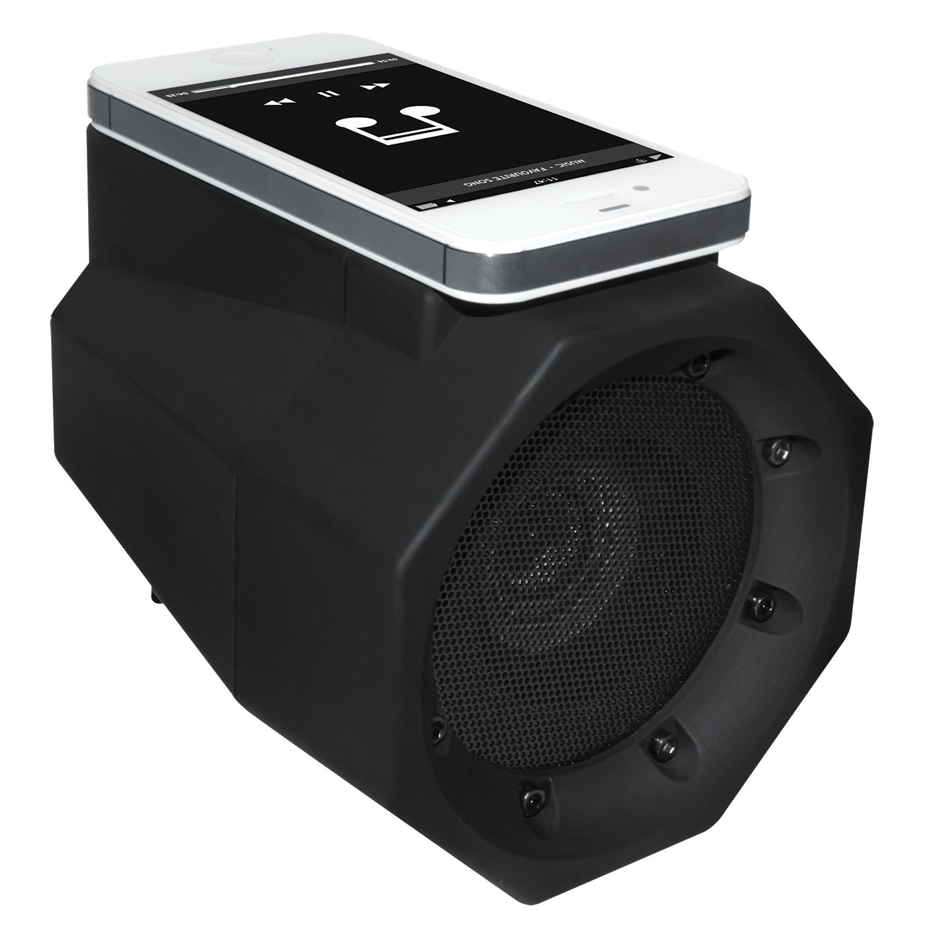 BoomTouch Wireless Touch Portable Speaker Boom Box (Black) by Allstar Innovations (Image #1)