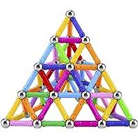مجموعة مكعبات وعصي بناء مغناطيسية مكونة من 101 قطعة من لابويا، ألعاب تعليمية مغناطيسية للاطفال والكبار، مجموعة العاب…