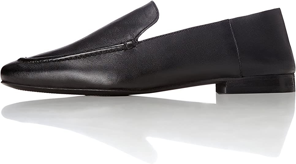Loafers in Leather with Soft Back