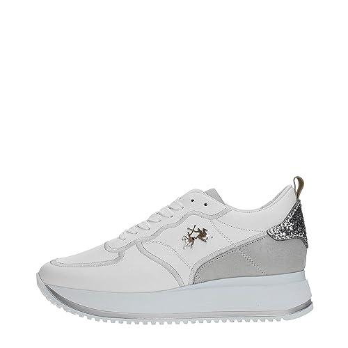 La Martina Shoes L5123140 Sneakers Donna  Amazon.it  Scarpe e borse 2fe5a274270