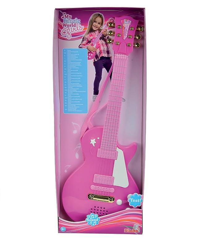 Simba Toys - Guitarra para niños (importado): Amazon.es: Juguetes y juegos