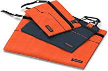 Presch Tool Pouch Set of 3 - Empty Small Tool Bag with Carabiner and Zip - Pouch Bags with Holder - Multi Purpose Storage Pouch, Organiser