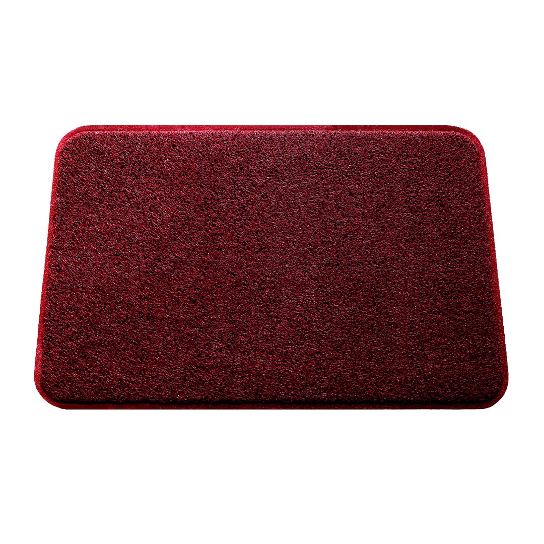 Smartcatcher Mats Color Splash Collection Red Wine Color Cushioned Comfort Non-Slip Mat For Kitchen & Bathroom, Waterproof, Protect Floors From Water Damages, 100% No Odor Emission, 36 x 24 In