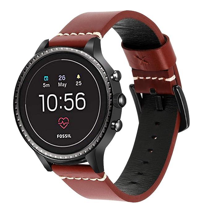 iWonow - Correa de Piel para Reloj Samsung Gear S3 Classic ...