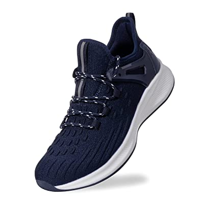 Men/'s Stretch Sports Athletic Sneakers Breathable Elastic Running Shoes Casual