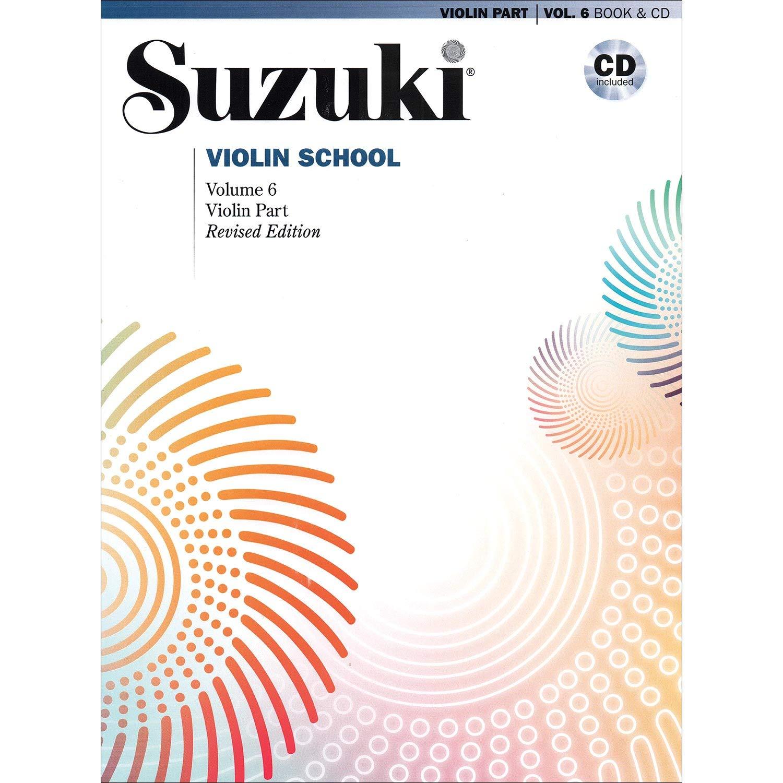 Suzuki Violin SchoolVol 6 w/ Cd Revised