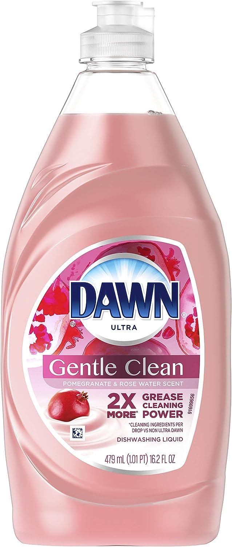 Dawn Ultra Gentle Clean Pomegranate & Rose Water Scent 16.2 oz - 2 pack