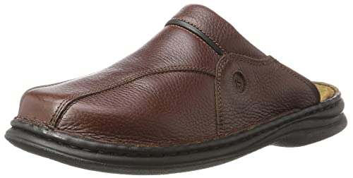 Josef Seibel Klaus, Men's Clogs, Brown (Brasil/Black 26341), 6