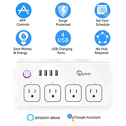 Review Smart Power Strip, Wifi
