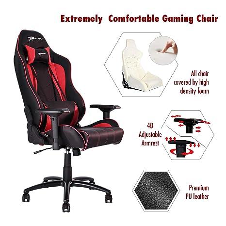 Amazon.com: ewin silla Champion Series computadora de la ...