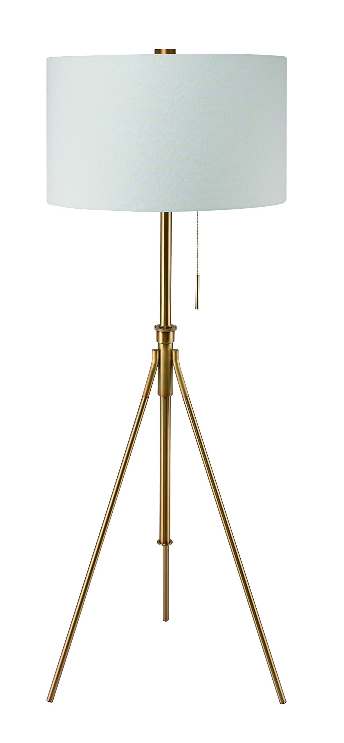 SH Lighting 31171f-SG Tall Tripod Adjustable Floor Lamp, Gold - Size: 20 x 20 x 71 inches lamp with huge drum shade X-large shade size 20 inch x 13 inch California title 20 compliant: energy efficient (LED light bulb compatible) - living-room-decor, living-room, floor-lamps - 71Er7YOMZqL -