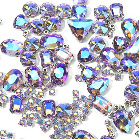 TEARDROP RHINESTONE 18mm,gem,CRAFT,sew,sequin,bead,EMBELLISHMENT,costume,art