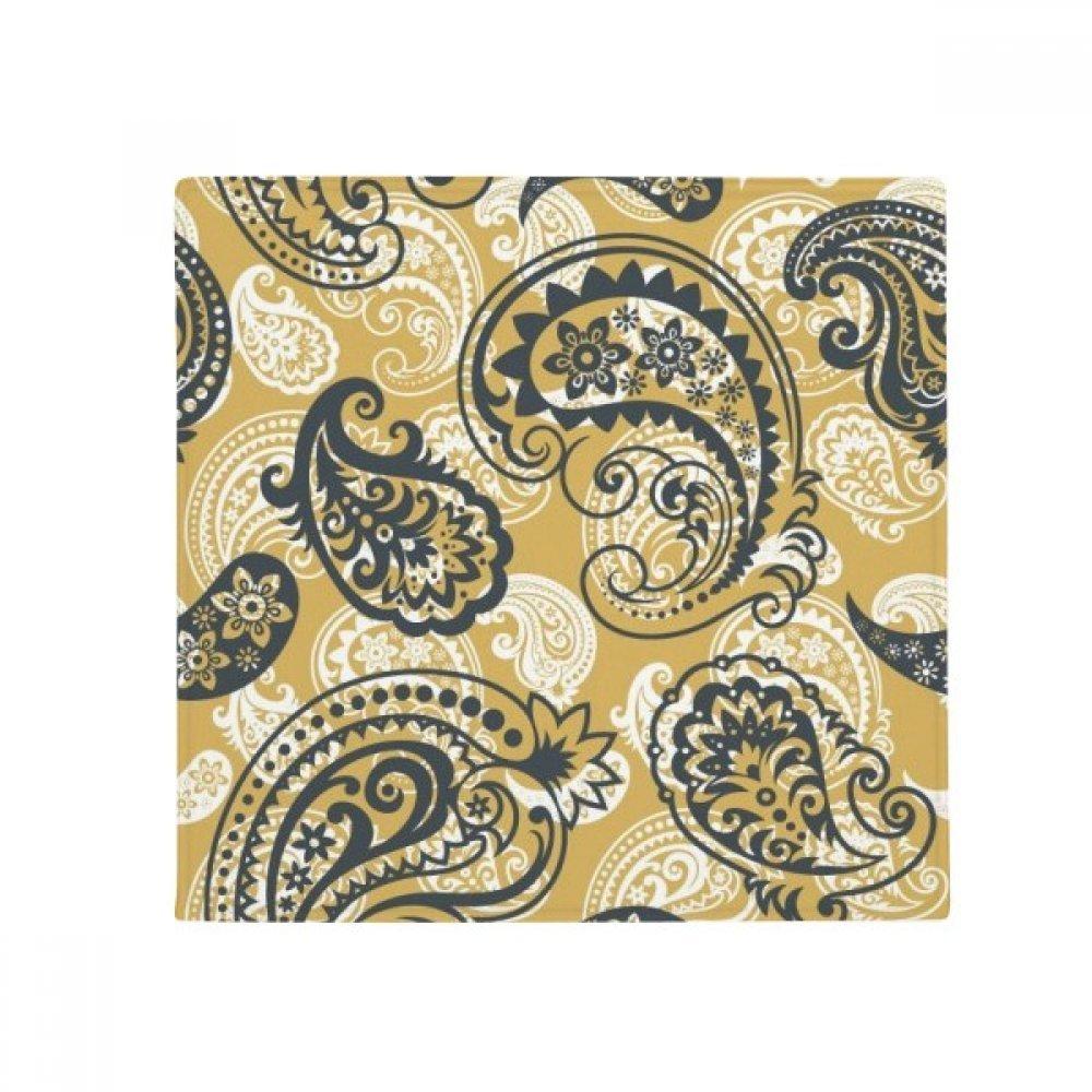 DIYthinker Printing Repeat Cloth Khaki colorful Art Anti-Slip Floor Pet Mat Square Home Kitchen Door 80Cm Gift