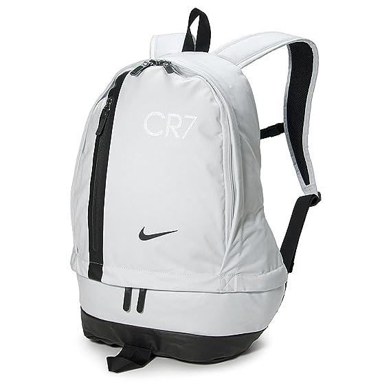 auténtica venta caliente lindos zapatos tienda oficial Nike CR7 Cheyenne - Mochila de fútbol, Negro, (Pure Platinum ...