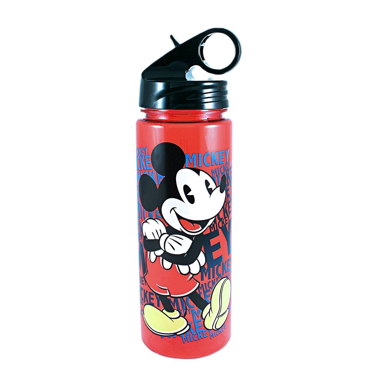 6cc3ef3b33 Silver Buffalo DL0164 Disney Mickey BPA-Free Tritan Water Bottle, 20 oz.,  Red: Amazon.ca: Home & Kitchen