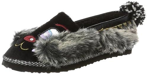 f233b7f288b Irregular Choice Women s Doggy Doze Low-Top Slippers  Amazon.co.uk ...