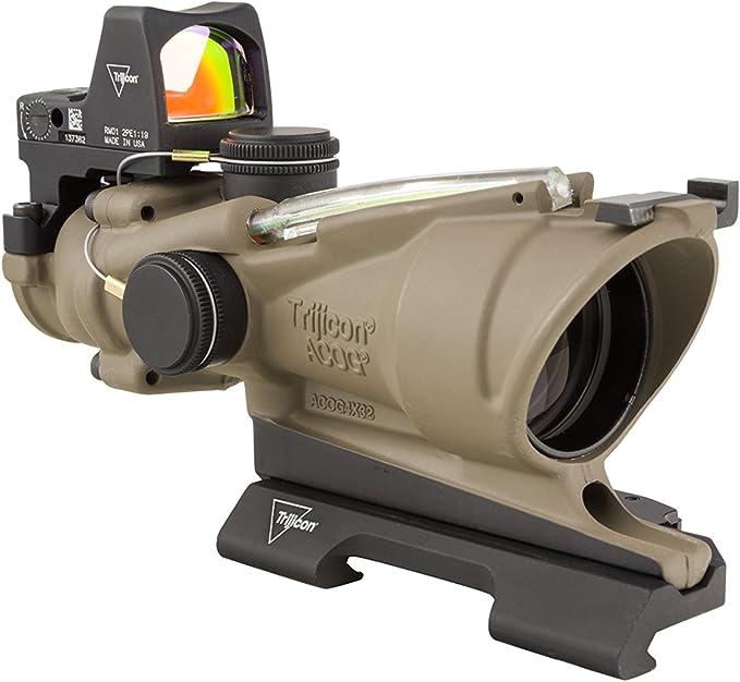 best 300 blackout scope: Trijicon 4×32 ACOG/RMR Combo Riflescopes