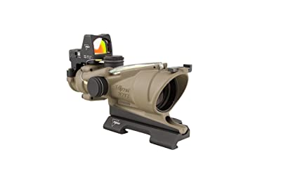 Trijicon 4x32mm ACOG Dual Illumination Green Crosshair Reticle Flat Dark Earth Optics