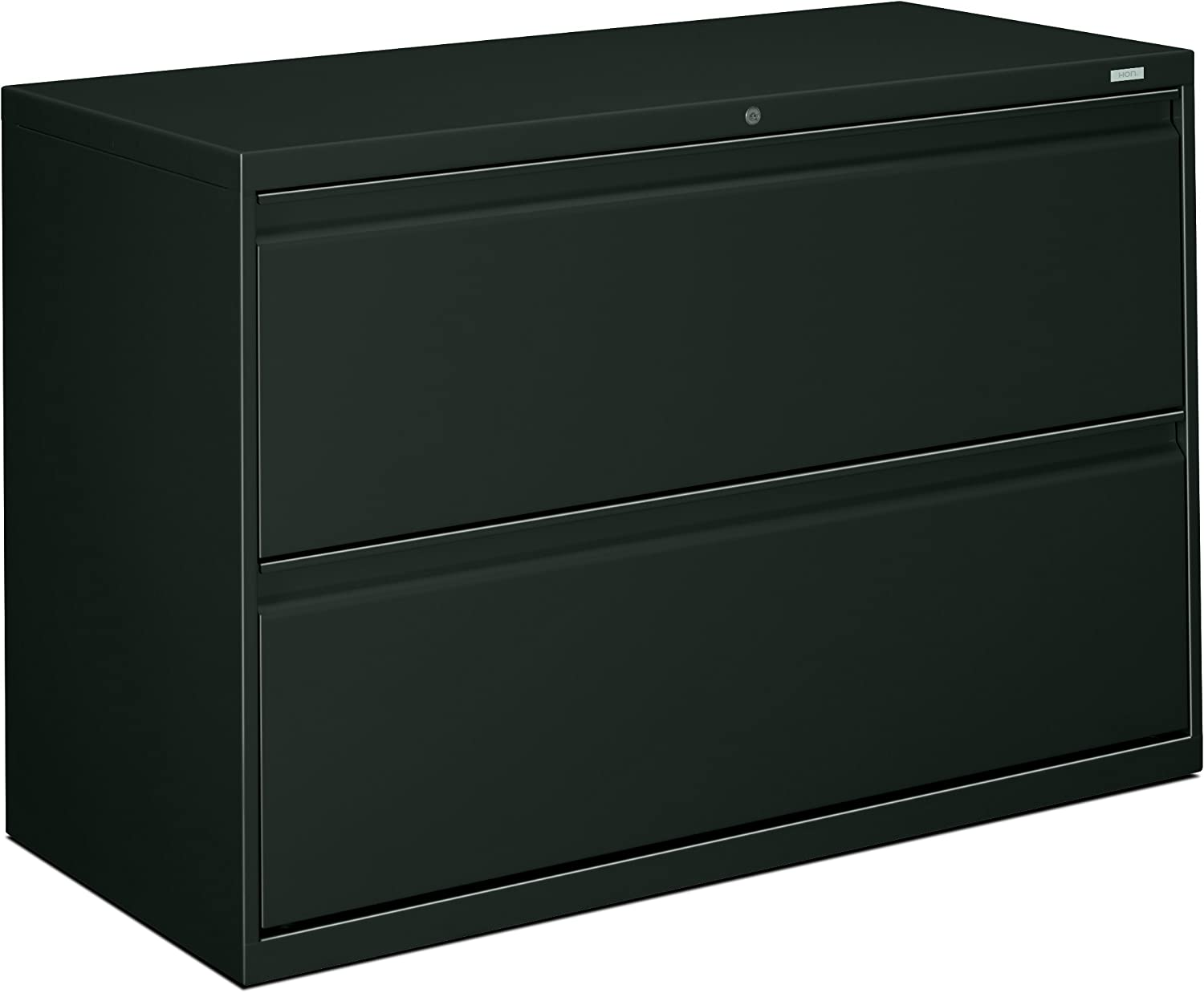 HON 892LS 800 Series 42 by 19-1/4-Inch 2-Drawer Lateral File, Charcoal
