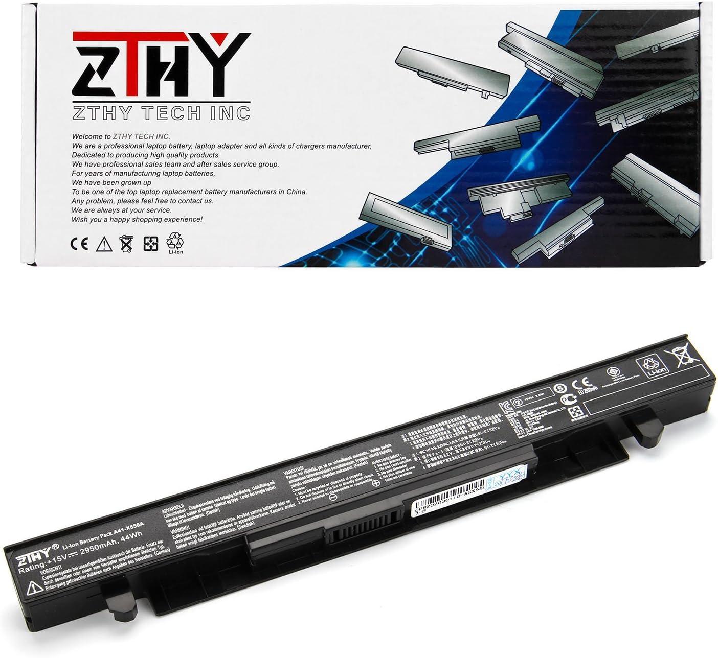 K KYUER 38WH 2600mAh A41-X550A Batería para ASUS X550 X550C X550CA X550CC X550CL X550E X550L X550LN X550V X550VC X550A X550B A450 P550 R510 X450 A550C A450C F550 F552 K450 K550 R510 Laptop