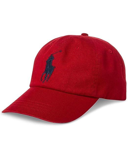 Ralph Lauren - Gorra de béisbol - Rojo Ralph Red: Amazon.es: Ropa ...