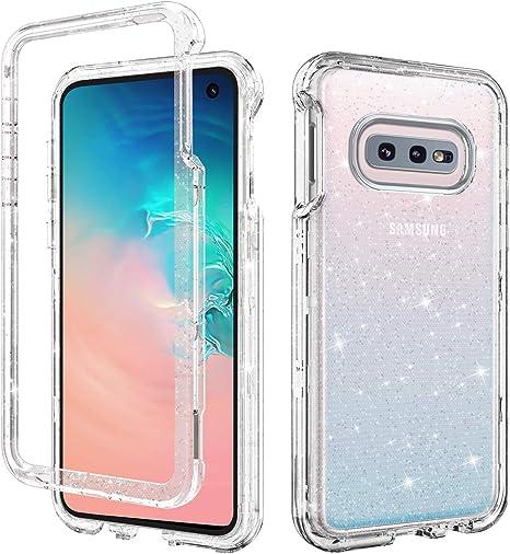 DUEDUE Funda Samsung Galaxy S10e, Funda Samsung S10e Transparente ...