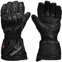 Verwarmde handschoenen, motorhandschoenen, oplaadbare lithium-batterij, skiën en vuisthandschoenen voor heren en dames…