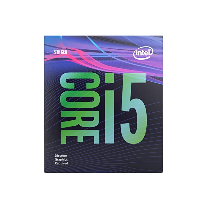 Intel Core i5-9400F Desktop Processor 6 Cores up to 4.1 GHz Turbo Without Processor Graphicslga1151 300 Series 65W Processors 999CVM