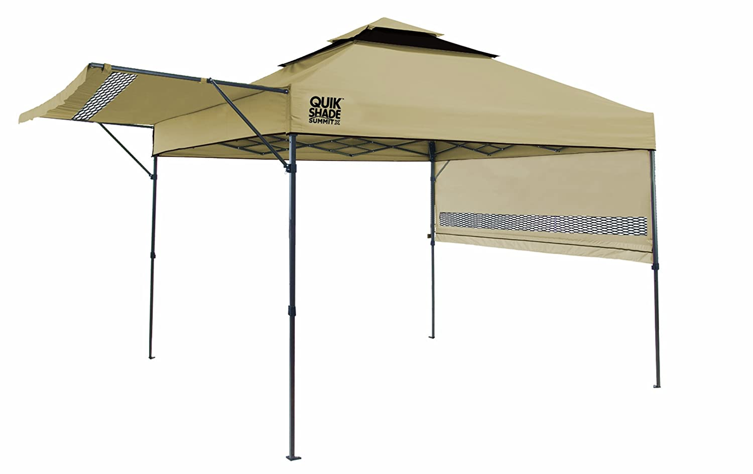 Amazon Quik Shade Summit SX170 10x17 Instant Canopy With Adjustable Dual Half Awnings Sports Outdoors