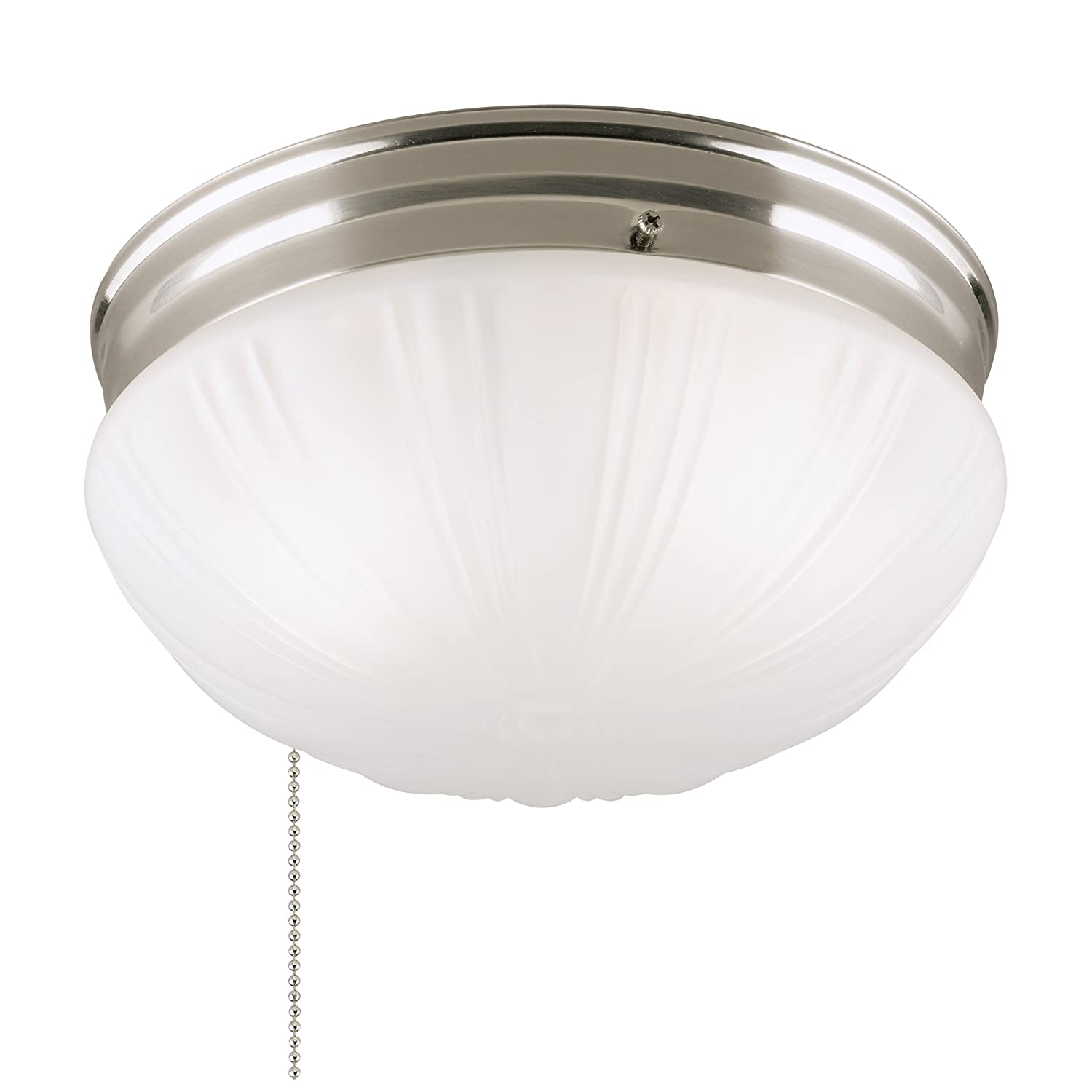 Westinghouse 6721000 Two-Light Flush-Mount Interior Ceiling Fixture ...