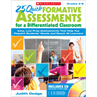 25 Quick Formative Assessments for a Differentiated Classroom
