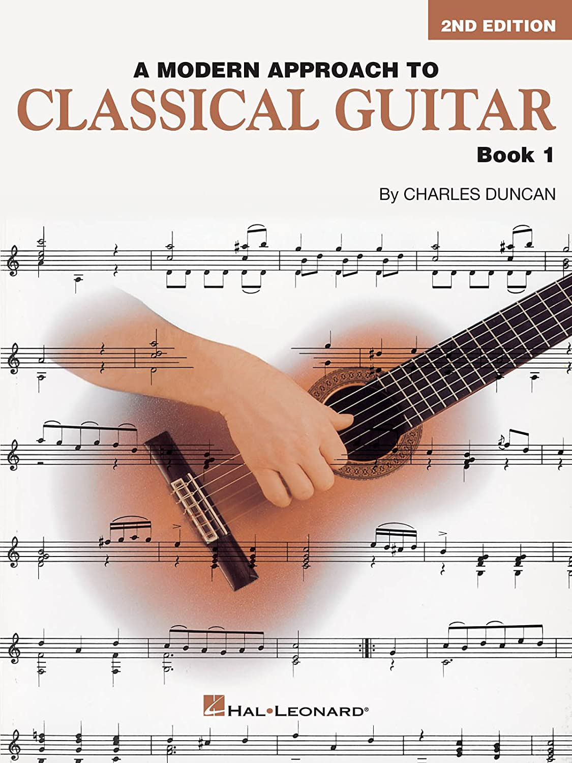 Charles Duncan: A Modern Approach To Classical Guitar - Book 1 ...