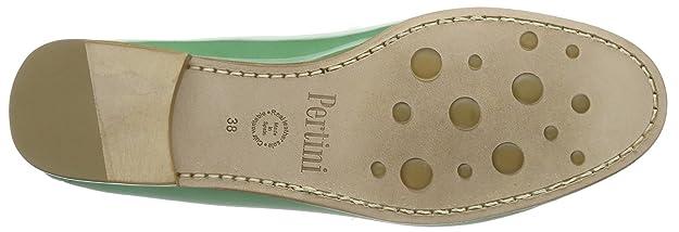 Pertini Pertini 9301 - Mocasines de cuero para mujer, color verde, talla 38: Amazon.es: Zapatos y complementos