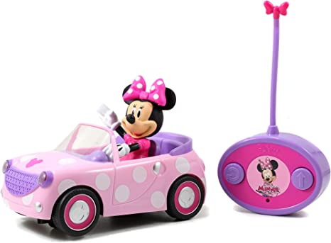 Disney Store MINNIE MOUSE REMOTE CONTROL CAR RC NIB PARKS NEW CLUBHOUSE 2019